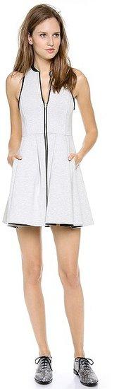 T by alexander wang Jersey Bonded Neoprene Dress