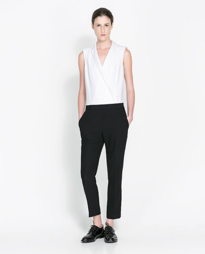 Long Two-Tone Jump Suit