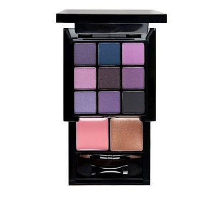For all your purple makeup needs on a budget, the Nyx Purple Smokey Look Kit ($12) is a great buy. Mix and match the many purples and lilacs, and use the deep plum and slate gray to add some definition. You even get two coordinating lip colors.