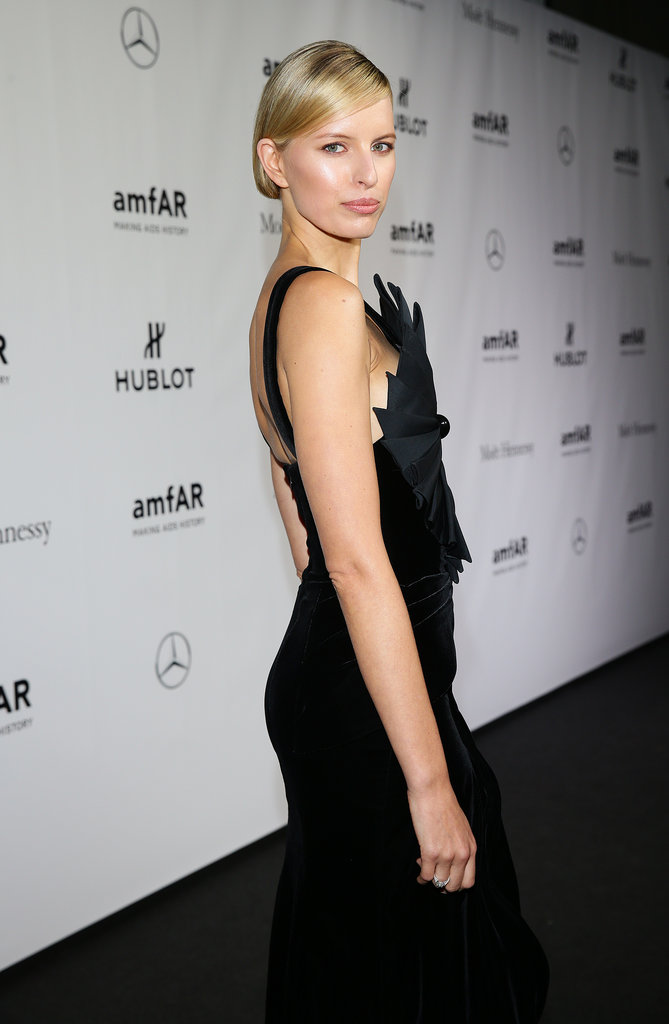 At the amfAR Milano 2013 Gala, Anna Kurkova showed everyone how glamorous was done. A sleek updo and neutral, easy makeup made for a look that was beyond classic.