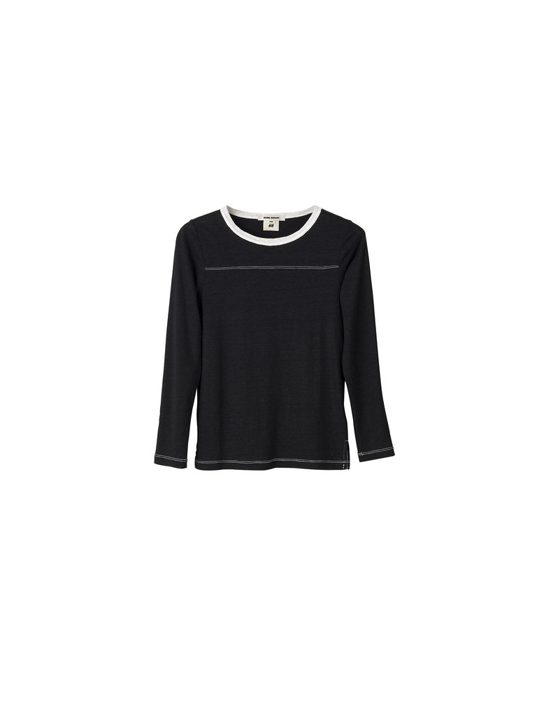Long-sleeved T-shirt ($30) Photo courtesy of H&M