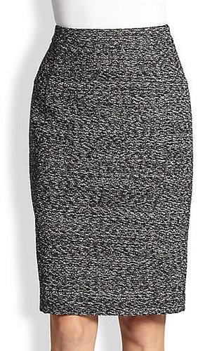 Tweed Pencil Skirt