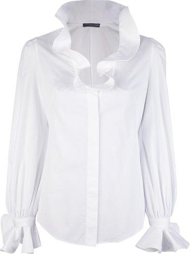 Alexander McQueen ruffled blouse
