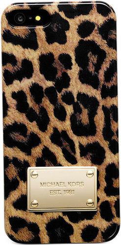 MICHAEL Michael Kors iPhone 5 Case, Cheetah Print