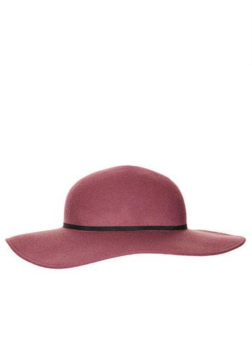 Grand chapeau en feutre souple