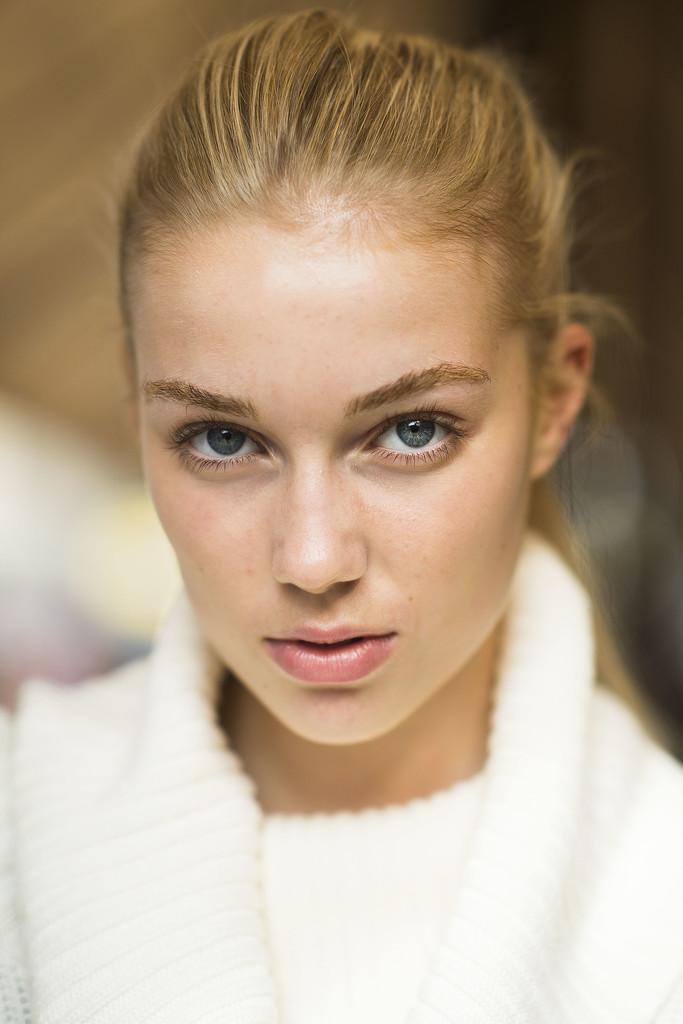 An easy, breezy ponytail is always a good look. Source: Le 21ème   Adam Katz Sinding
