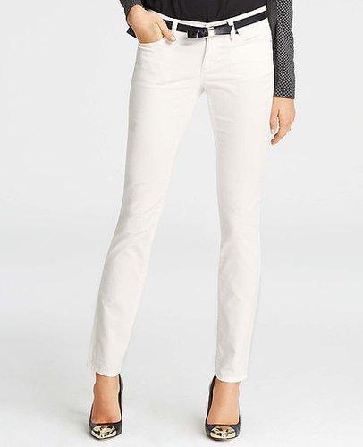 Petite Modern Slim Corduroy Pants