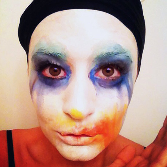Lady Gaga Applause Makeup Tutorial