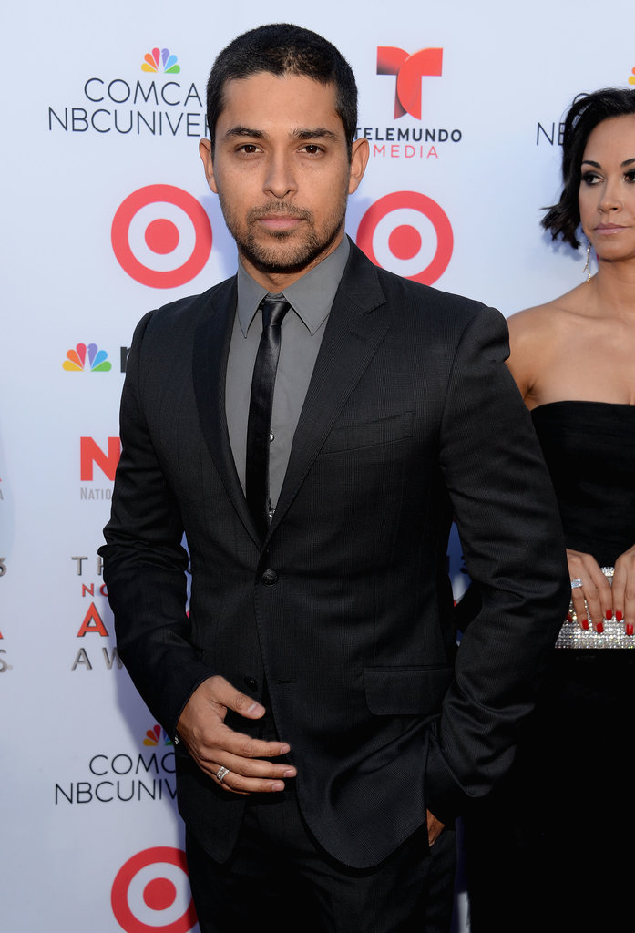Wilmer Valderrama was one of many famous faces at the ALMA Awards.