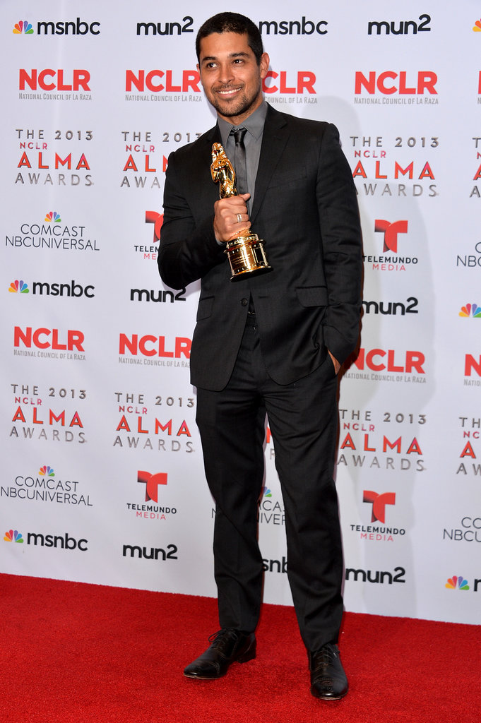 Wilmer Valderrama was recognized at the 2013 ALMA Awards.