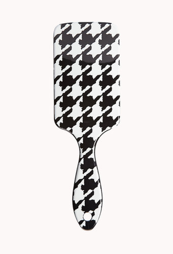 FOREVER 21 Houndstooth Paddle Brush