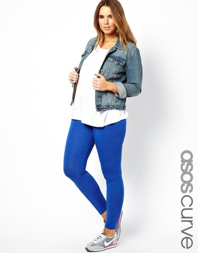 ASOS CURVE Exclusive Legging In Cobalt