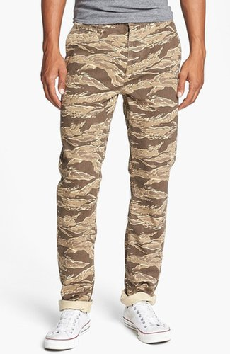 Hurley 'Corman Worker' Straight Leg Chinos