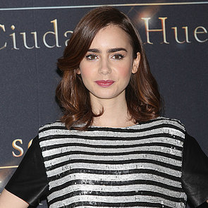 Lily Collins Face of Lancôme