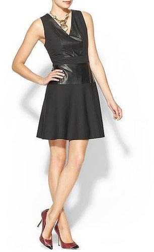 Rhyme Los Angeles Astrid Vegan Leather Dress