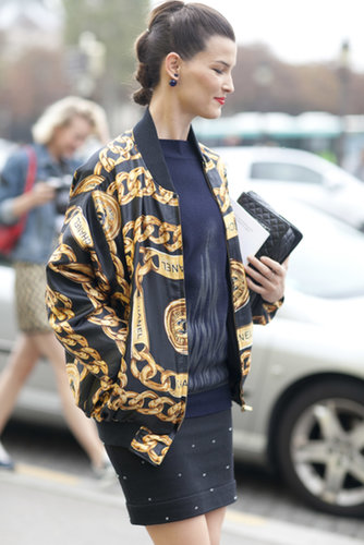 Hanneli Mustaparta was a standout in Chanel.