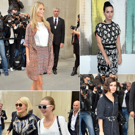 Celebrity Style at Paris Fashion Week