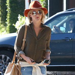 Julianne Hough Wearing Boyfriend Jeans