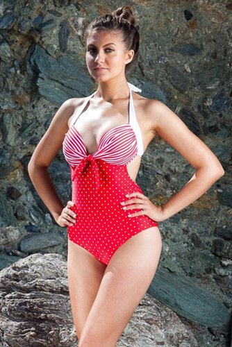 Red Sailor Monokini