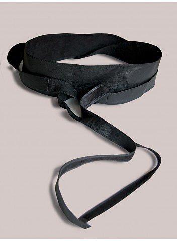 Plus Size Obi Belt in Black
