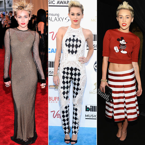 She Can't Stop: Miley Cyrus's Sexy Red Carpet Evolution