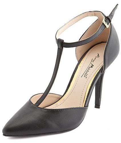 T-Strap Single Sole Pump