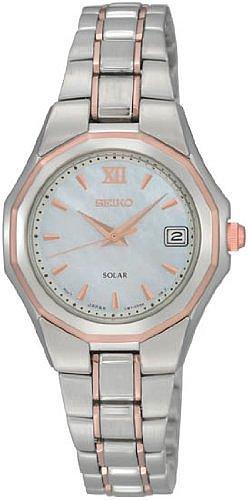 Seiko Men's SNE172 Dress Solar Classic Watch