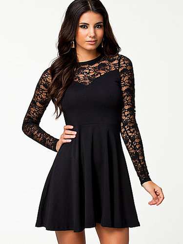 Vero Moda Okshi Jersey Lace Dress