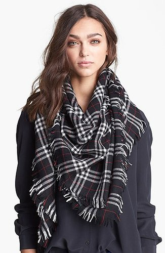 The Kooples Tartan Plaid Scarf