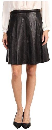 Paul Smith - Leather Skirt (Black) - Apparel