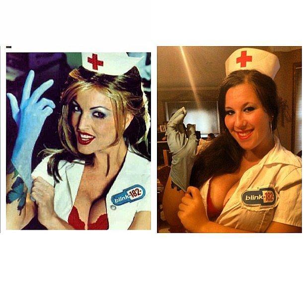 Blink-182 Nurse: The Costume