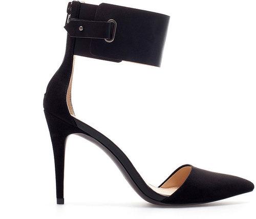 High Heel Pointed Heel Shoes