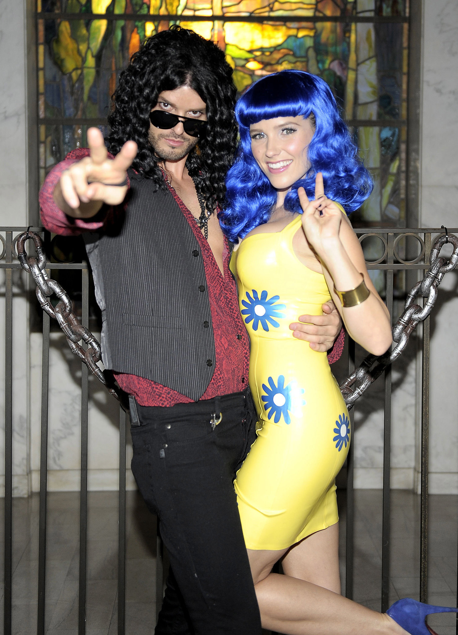 Iconic Couples For Halloween: Sophia Bush And Austin Nichols As Katy Perry And Russell