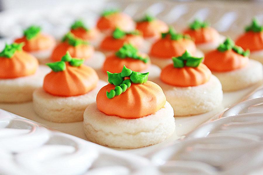 Pumpkin Cookie Nibbles