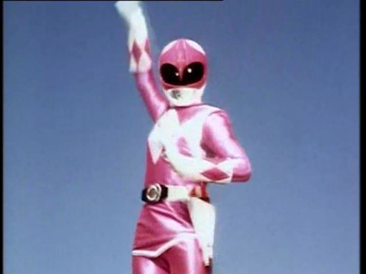 Pink Power Ranger: The Inspiration