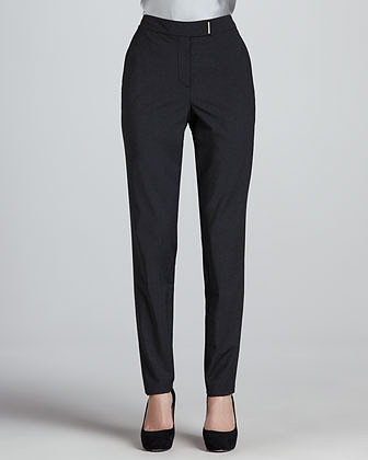 Magaschoni Wool Straight-Leg Pants