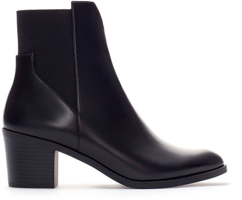 High Heel Pointed Ankle Boot