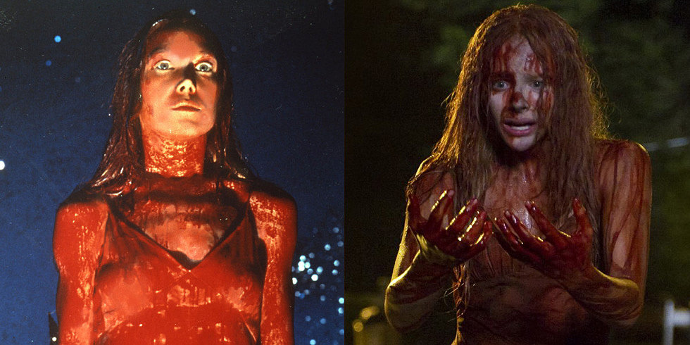 Original Carrie Movie vs. Carrie Remake Characters ...