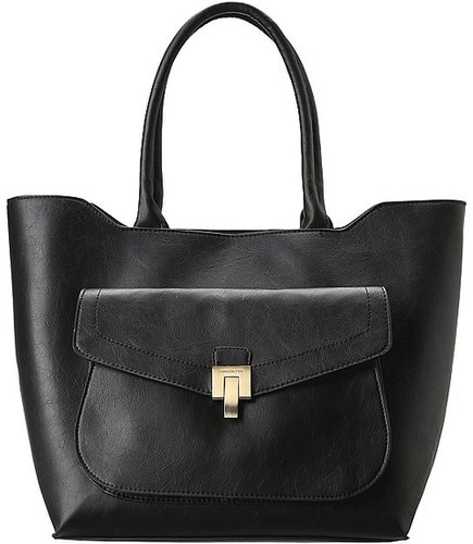 London Fog - Wesley Tote (Black) - Bags and Luggage