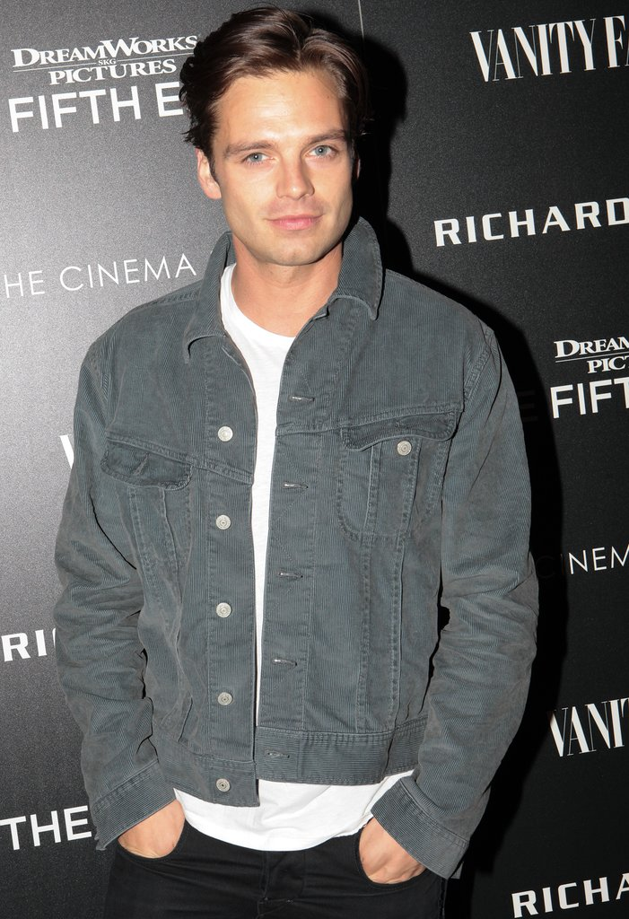 Sebastian Stan Stan has been making the leap from the small screen (Gossip Girl, Once Upon a Time) to bigger roles on the big screen (he's center stage in Captain America: The First Avenger), and we think his brand of brooding sexiness would make him an ideal Christian.
