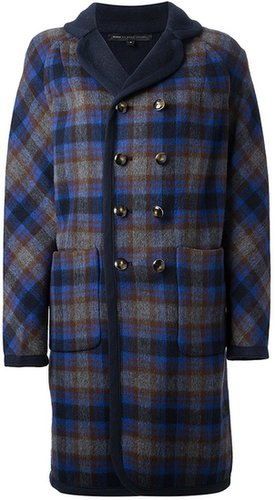 Marc By Marc Jacobs reversible checked coat
