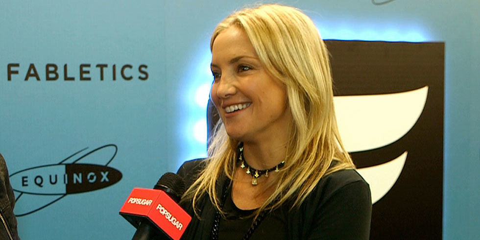 Kate Hudson Spills About Her New Athletic Apparel Line and Her Fashionable Son