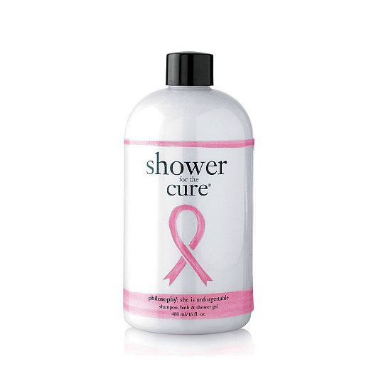 Hop in your shower, and scrub up for a cure with the Philosophy Shower For a Cure ($20). All of the proceeds will go the to the Women's Cancer Research Fund.
