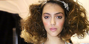 And the Bride Wore an Unabashedly Dreamy Beauty Look at Jenny Packham