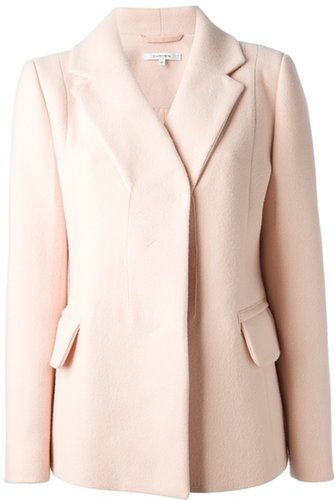 Carven Vneck Jacket Blush