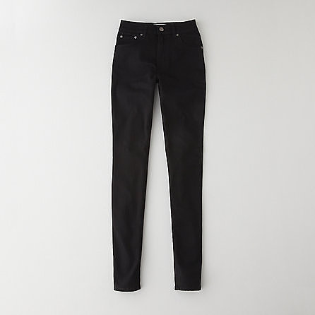 ACNE needle black jean
