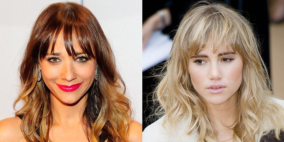 60+ Trendy Fringes For All Face Shapes and Hair Textures