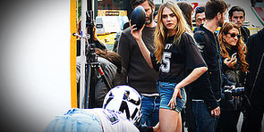 Cara Delevingne — Model, Singer, Actress . . . and Quarterback?