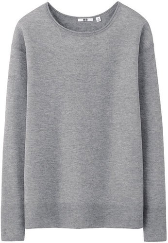 Women Cashmere Blend Fine Gauge Sweater