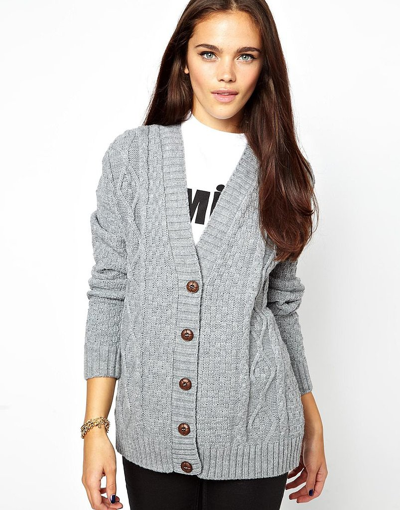 No wardrobe is complete without a go-with-everything cozy cardigan like this
